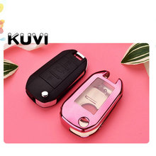 Tpu Car Remote Key Fob Shell Cover Case For Peugeot 3008 208 308 508 408 2008 307 4008 Skin Holder 2016 2017 2018 3 button remote fob protector silicone key case cover for peugeot 508 408 308 208 2008 3008 4008 rcz