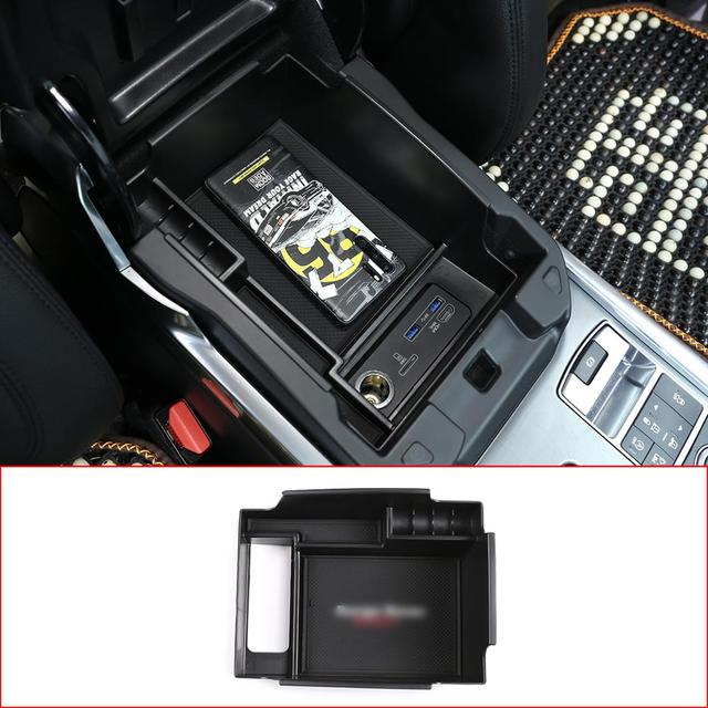 For Land Rover Range Rover Sport Vogue Car Central Storage Box Door Phone Glove Armrest Box Accessories (Not with refrigerator) 1