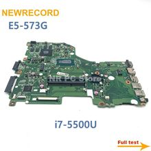 Laptop Motherboard E5-573G DA0ZRTMB6D0 Main-Board Acer Geforce NEWRECORD Aspire 940M