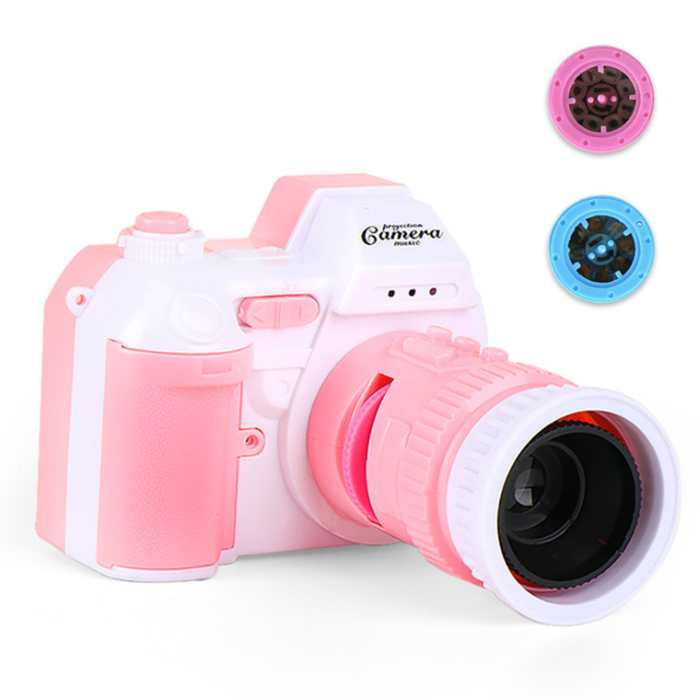 Children's Toy Simulation 16 Projection Music Camera Fun Puzzle Role-playing Parent-child Interactive Communication Toy 172