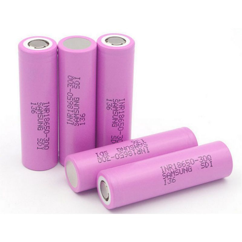 100% Original 30Q 3000mAh Battery For Samsung INR 18650 30Q INR18650 Battery 3.7V 3000 MAh Li-ion Rechargeable Batteries