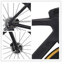 2020 new road bike carbon frame internal cable disk frameset Includes handlebar+stem+fork+seatpost di2+headset+clamp