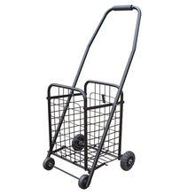 Portable Folding Shopping Bag Supermarket Shopping Cart Trolley Flea Mart Grocery Travel Shopping Bags Basket 37x32x76cm
