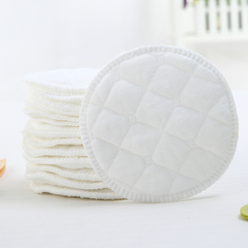 5pcs Washable Cotton Reusable Make Up Remover Pad Breast Pad Skin Cleaner Ladies Beauty Care Women Beauty Make Up Health Care