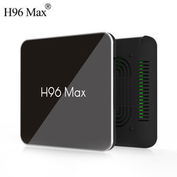 Android 8.1 TV Box H96 Max Amlogic S905X2 4 K Media Player 4 GB RAM 32G X96Max DDR4 QuadCore 2.4G+5G Dual Wifi pk H96 Max Plus