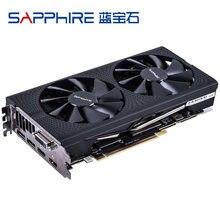 Rx 570 sapphire / nitro Grafikkarte pc gaming computer GDDR5 Für AMD Radeon RX570 4GB Video Karten placa de video gpu DVI Verwendet