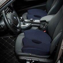 Car Seat Cushion Rebound Memory Cotton Driver Increased Anti-Slip Travel Chair Back
