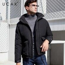 UCAK Brand Jackets 2019 Winter New Arrival Men's Thick Warm Casual Streetwear Fashion Trend Pockets Outwear Clothing Male U8020