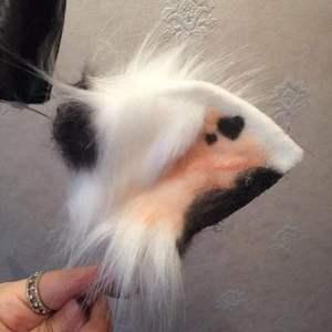 Image 3 - MMGG new Cow Ox Ears Horns hairhoop Beast Fox style headwear of  carnaval Cosplay costume accessories