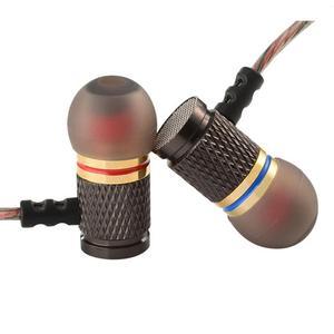 Image 5 - Kz EDR1 特別版ゴールドメッキハウジングマイク 3.5 ミリメートルで hd 耳モニター低音ステレオイヤフォン電話