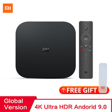 Wersja globalna Xiaomi Mi TV, pudełko S Android 9.0 2GB RAM 8GB ROM Smart TV dekoder 4K QuadCore HDMI WiFi Mali 450 1000Mbp Player(China)