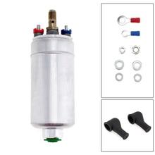 цены Newest 12V Universal External Inline 300LPH Fuel Pump Replacement for Bosch