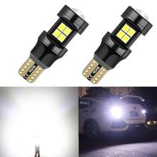 2x Super Bright T15 W16W 921 2835 SMD LED Bulb Car Auto Canbus Reverse Light Reversing Lighting Back up Lamp DC12V 6000K White