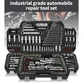 Набор инструментов для ремонта автомобиля, многофункциональный ящик для инструментов из хромованадиевой стали, 46/53 шт.