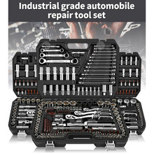 46/53PCS Werkzeuge Box Professionelle Automobil Reparatur Werkzeug Set Multifunktionale Hand Werkzeug Chromes Vanadium Stahl Reparatur Für Auto