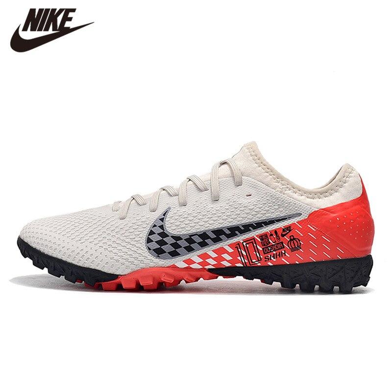 Nike VAPOR 13 PRO TF Football Shoes Training Soccer Sneaker Black AT8004-414