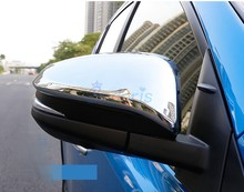 For Toyota RAV4 2014 2015 2016 2017 2018 Chrome Car Styling Side Wing Mirror Cover Rear View Overlay Accessories