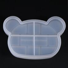 Сделай сам, силиконовая форма для коробки хранения, прочная Геометрическая Прозрачная форма для рукоделия, инструменты, украшение, ювелирный чехол, подарки для дома