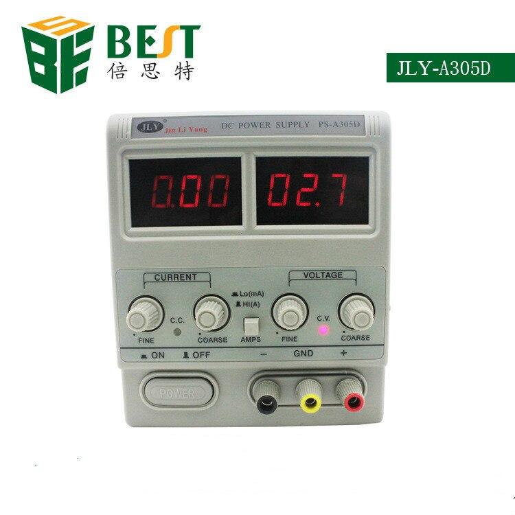 Nouvelle alimentation de Maintenance DC alimentation réglable 30V5A ordinateur portable réparation compteur électrique JLY-A305D