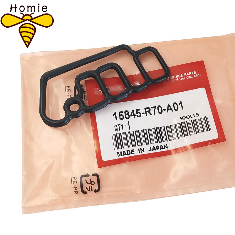 1X NEW Best Quality Genuine Cylinder Head Solenoid Gasket VTEC Gasket For Honda OE 15845-R70-A01/15845 R70 A01/15845R70A01