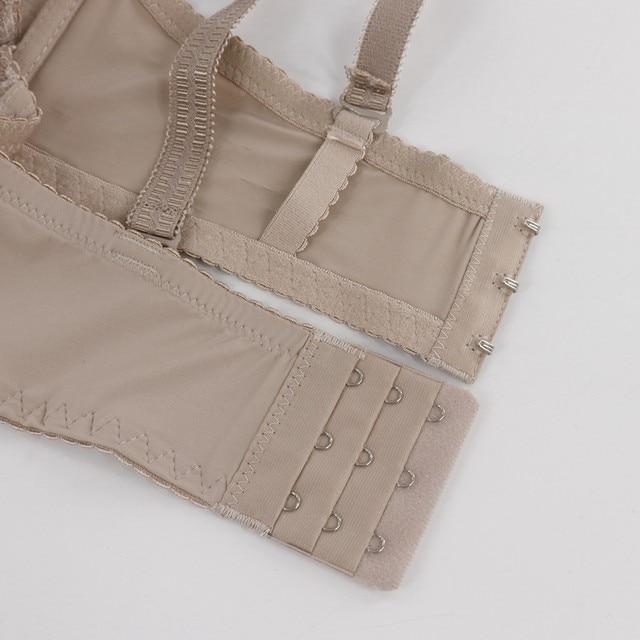 PariFairy Sexy Femme Vest Deep V Bras Women Underwear Lingerie Top Padded Push Up Brassiere Floral Lace Soutien Gorge 18