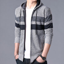 Foreign Trade Men's Knitted Sweaters, Men's Sweaters, Coats,Korean Version 2019,New Autumn and Winter Leisure Sweaters, Sweaters