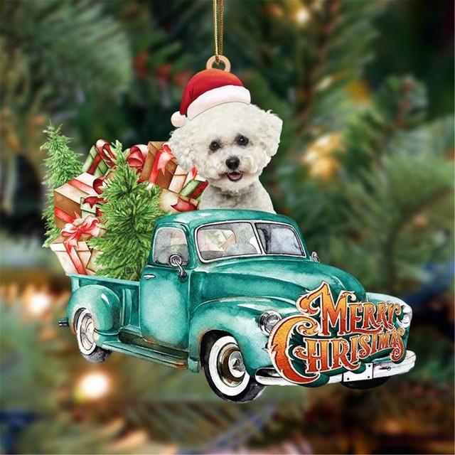 Dog Lovely Christmas Tree Gift 3