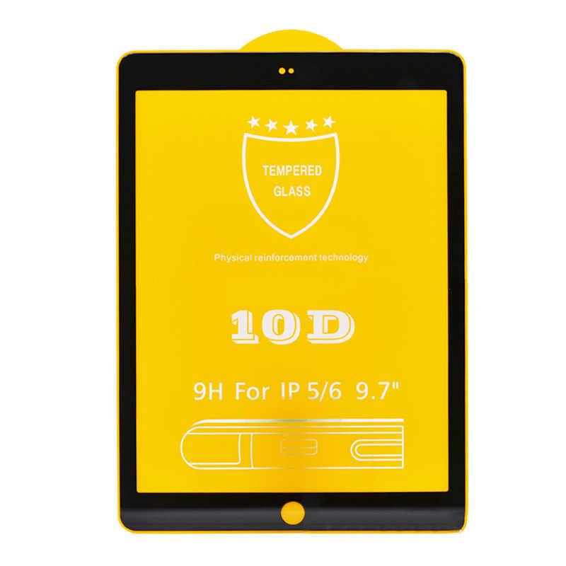 10D حامي الشاشة الزجاج المقسى فيلم ل أبل باد باد 1 2 3 4 5 6 الهواء 1 الهواء 2 10D التغطية الكاملة فيلم واقية 9H الزجاج