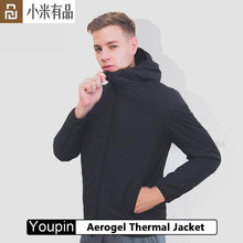Youpin Aerogel Thermal Jacket 첨단 기술 aerogel 혼합 소재 겨울 코트 경량 windproof water repellent fabric(China)