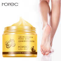 ROREC Foot Cream Foot Mask Exfoliation for Feet Massage Cream Feet Care Dead Skin Removal Smooth Cream Against Cracks Foot care