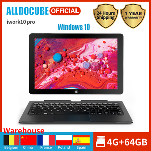Alldocube iWork10 Pro Планшет 10,1 дюйма Intel Cherry-Trail Windows 10 + Android 5.1 Двойная система ОЗУ 4ГБ+ПЗУ 64ГБ 1920*1200 IPS Wi-Fi