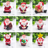 2020 Miniature Christmas Tree Santa Snowman Decoration Gift Miniature Garden Fairy Tale Character Home Table Decoration 6