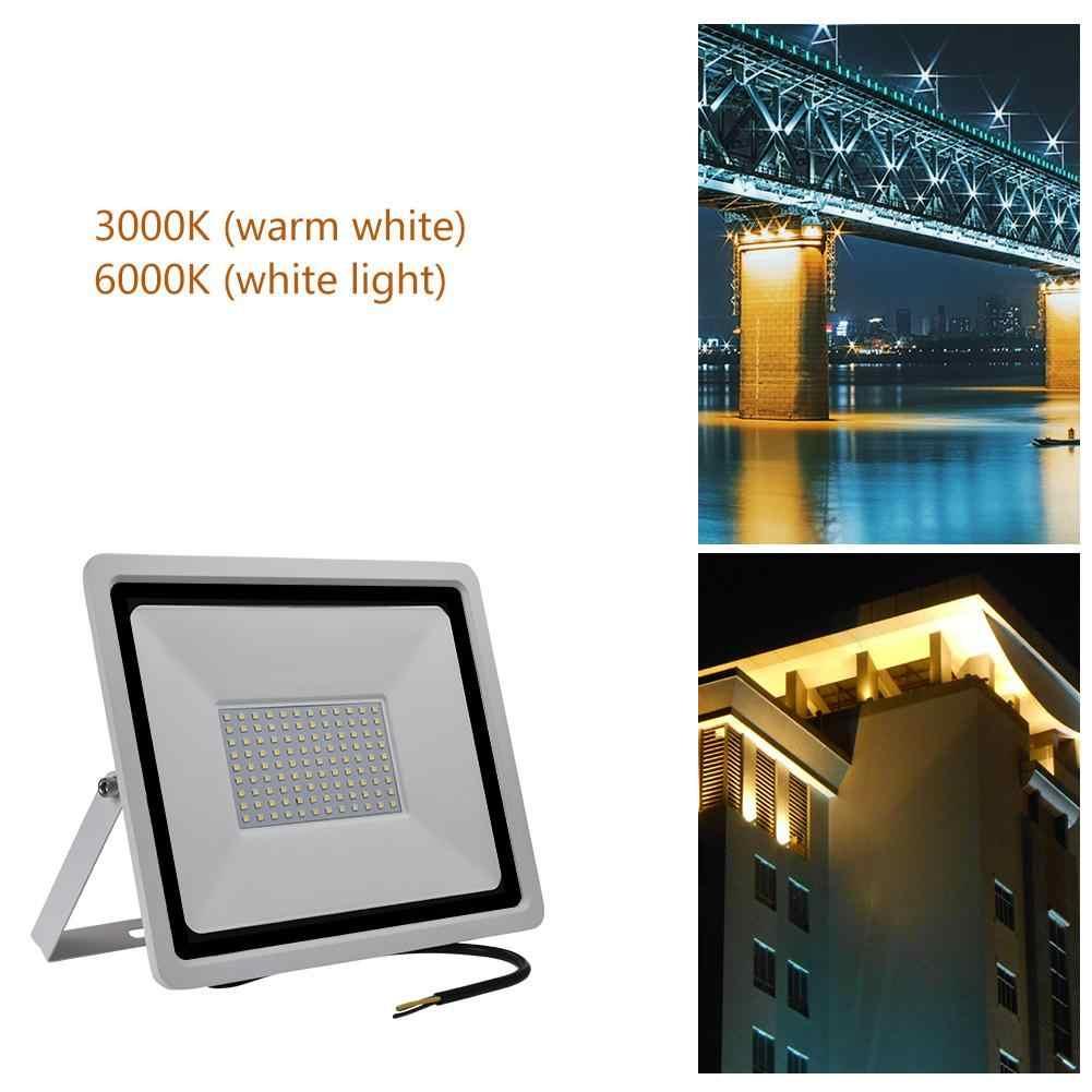 50 W/100 W Đèn Led An Ninh Ngoài Trời Pha Cho Sân Vườn Sân Nhà Để Xe Shop SMD2835 Chiếu Sáng Ban Đêm AC 220V 6500K IP65