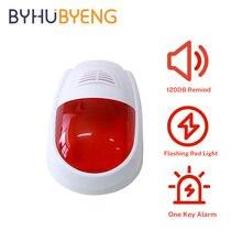 Byhubyeng Безопасность светильник звук пейджер будильник персональный