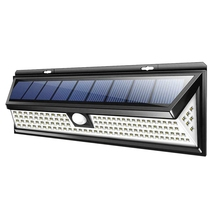 118 Led Solar Lamp Outdoor Garden Yard Waterproof Pir Motion Sensor Light Security Lights For Front Door Backyard Garage