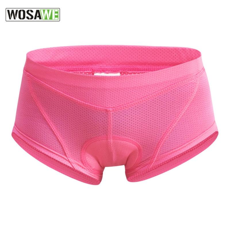 Men Women Cycling Underwear Gel 3D Padded Bicycle Riding Shorts Pants S-XXL New