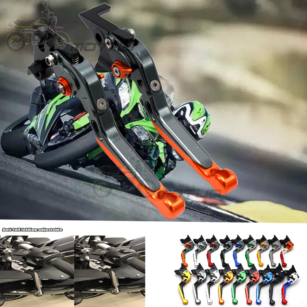 17 Colors Motorcycle Accessories Brake Clutch Levers For SUZUKI HAYABUSA GSX1300R 2008 2009 2010 2011 2012 2013 2014 2015 2016