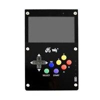 Gamepi43 para retropie game console para raspberry pi 3 b 800x480 4.3 Polegada ips tela