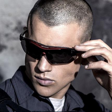 Открытый AutiUA спортивные очки для вождения поляризованные солнцезащитные очки военные тактические ездовые рыболовные очки оправа + 5 видов линз