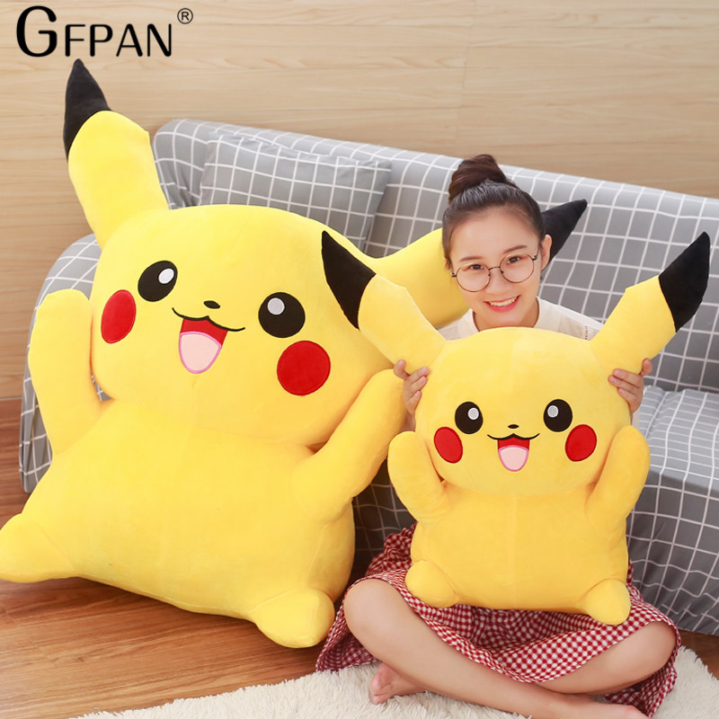 High Quality  22cm Pikachu Plush Toys Cute Stuffed Animal Dolls Movie Popular Hot Doll Children Toys Wedding Gift