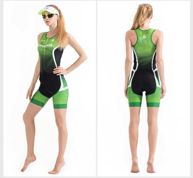Correndo bicicleta conjunto de esportes pro equipe triathlon terno das mulheres ciclismo camisa skinsuit macacão roupas ciclismo 4