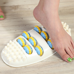 Домашний Массажер Для Ног, роликовый мяч, массажер для ног, акупунктурный точечный массаж ног, забота о здоровье, массаж, расслабляющий инст...