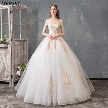Wedding Dress One-shoulder Seven-point Sleeve Lace Sexy Bride