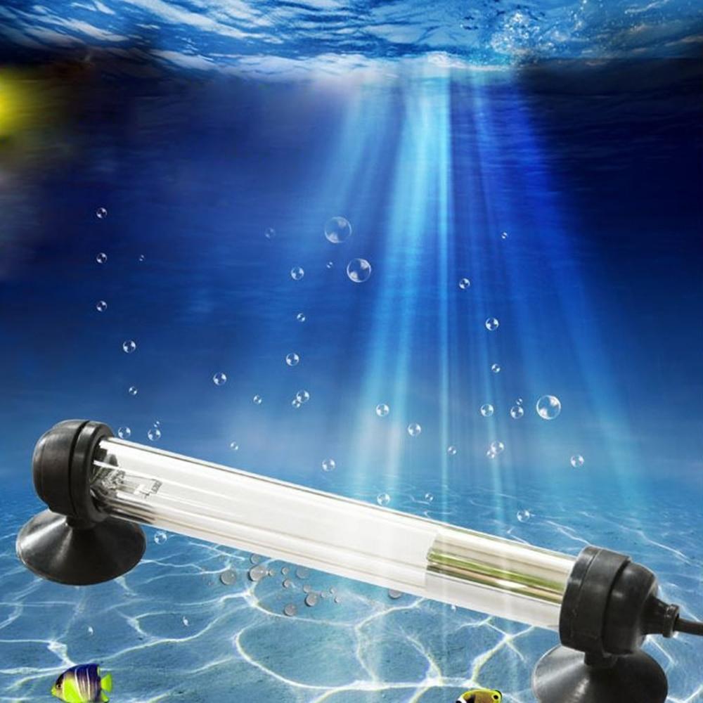 7W/11W Waterproof UV Sterilizer Submersible,110V 220V Water Purification Lighting ,Aquarium UV lamp for Fish Tank Pond  Aquarium