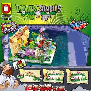 Military Series Plants Vs Zombies Mini Mutants Action Figures Toys  For Children Gifts promotion 10pcs set 4 8cm plants vs zombies pvz game model collection figures plants zombies action figure toys