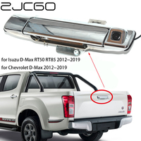 ZJCGO HD CCD Car Rear View Reverse Back Up Parking Trunk Handle Camera for Isuzu for Chevrolet D Max DMax RT50 RT85 2012~2019