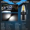 Katur 10x Canbus T10 LED W5W 2825 Interior Lights For Nissan Qashqai J10 J11 X-Trail t31 t32 Tiida Pathfinder Murano Note Juke 3