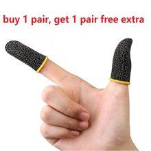 Atmungs Spiel Fingerspitzen Empfindlichen Controller Finger Hülse Für Pubg Schweiß Proof Non Scratch Touchscreen Gaming Daumen Handschuhe