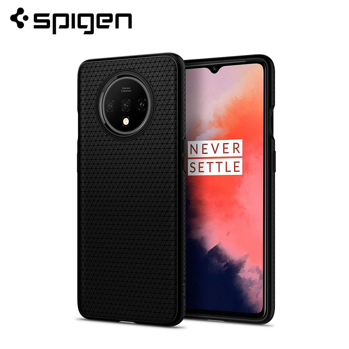 Spigen OnePlus 7T 7T Pro Case Liquid Air Soft Slim Form fitted Lightweight Anti Slip Matte