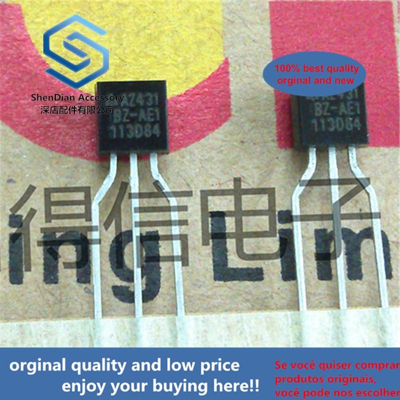 30pcs 100% Orginal New AZ431BZ-AE1 AZ431 431 ADJUSTABLE PRECISION SHUNT REGULATORS TO-92 Real Photo